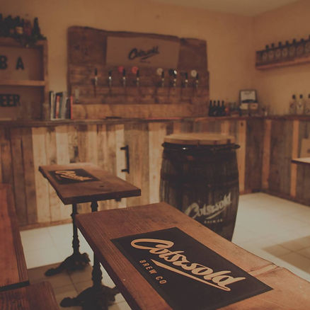 Cotswold Brew Co Tour Room