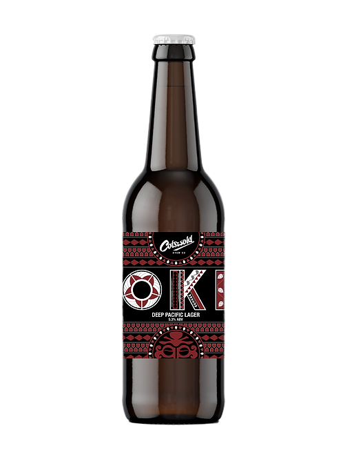 OKI [Deep Pacific Lager] (5.3% ABV)