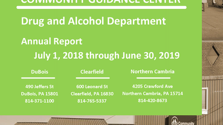 CGC 2018/2019 Drug and Alcohol Annual Report Available