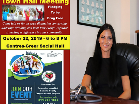 CGC CRNP to Speak at SAMHSA Town Hall in Northern Cambria, PA