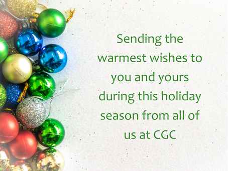 Holiday Wishes from CGC