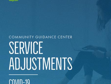 COVID-19 Service Adjustments 11/11/2020