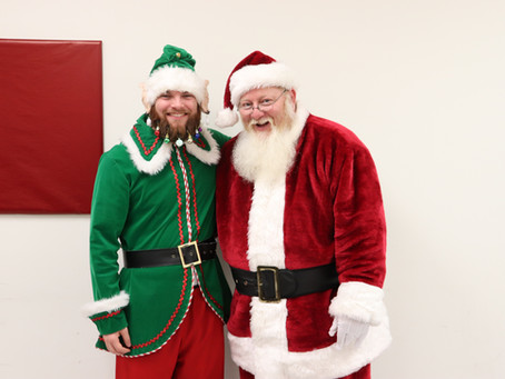 Santa Makes Surprise Visit to CGC!