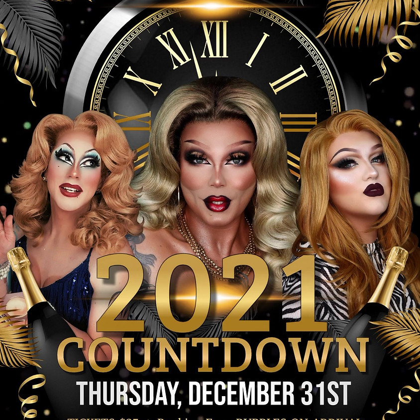 2021 Countdown (NYE @ Scarlett's)