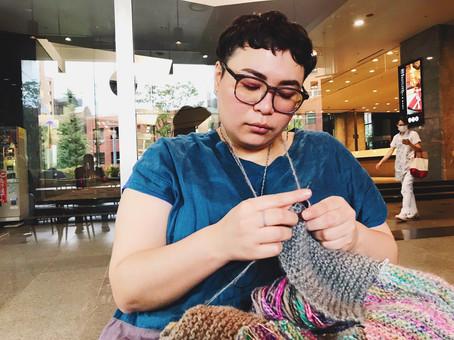 ポルトガル式の編み方