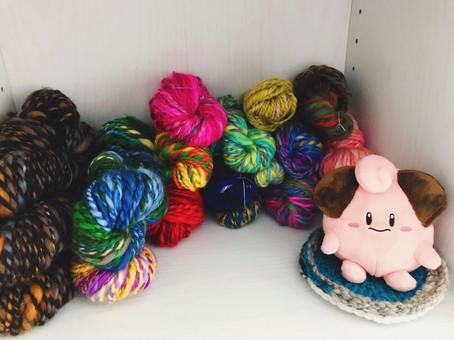 ピィの小さな糸屋さん開催中