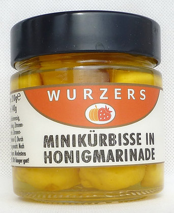 Minikürbis in Honigmarinade