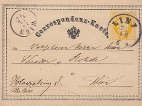 Erfindung der Postkarte