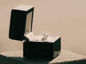 Der Diamant-Verlobungsring