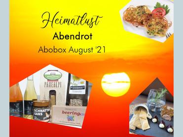 Abendrot - Die Sundowner Box im August '21