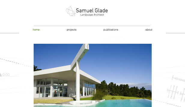 Designer website templates – Landscape Architect