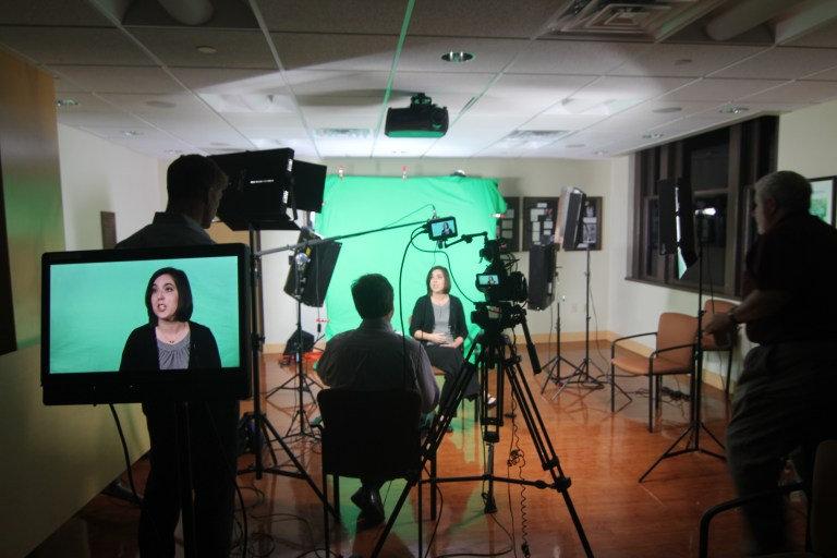 Testimonial on-camera interview