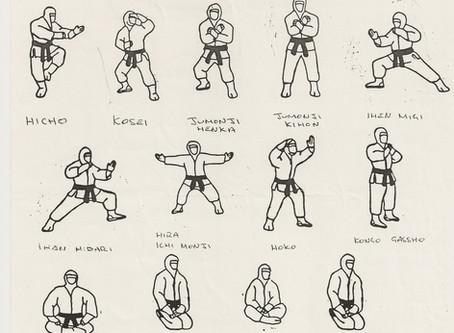 Kamae no kata - kata of postures