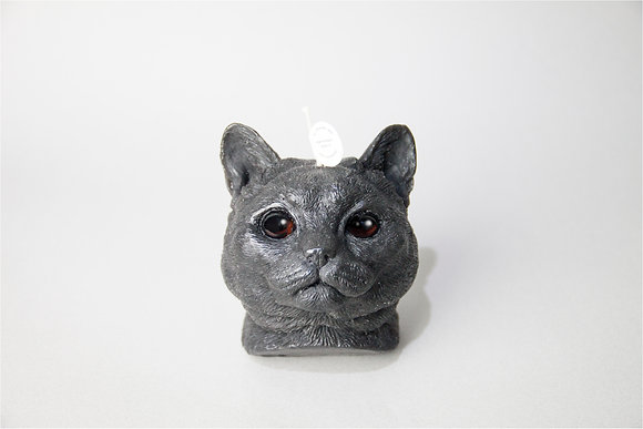 Cat Candle-American Shorthair Candle - black