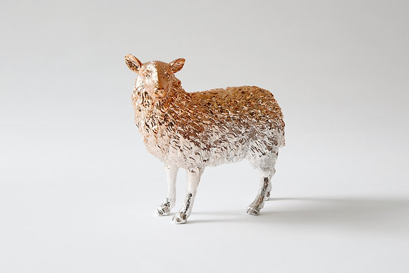Sheep paperweight- Rose Gold