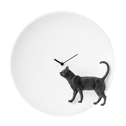 Moon X CLOCK – Cat