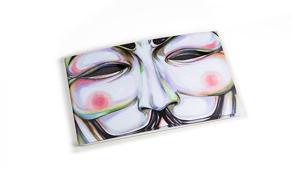 Hero Notebook (Mask V)