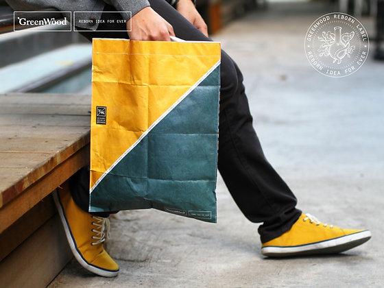 Post Bag (Yellow olive)