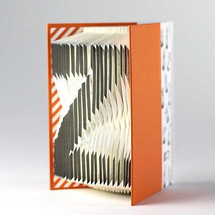 A-Z Folding notebook (Orange)