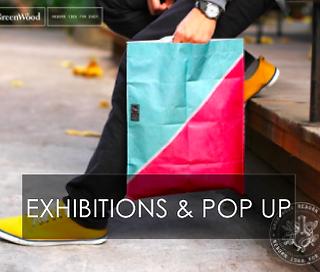 exhibition & pop up