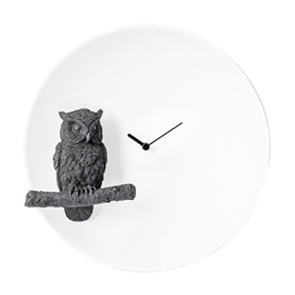 Moon X CLOCK – Owl