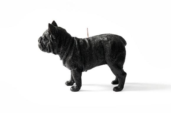 Bulldog candle