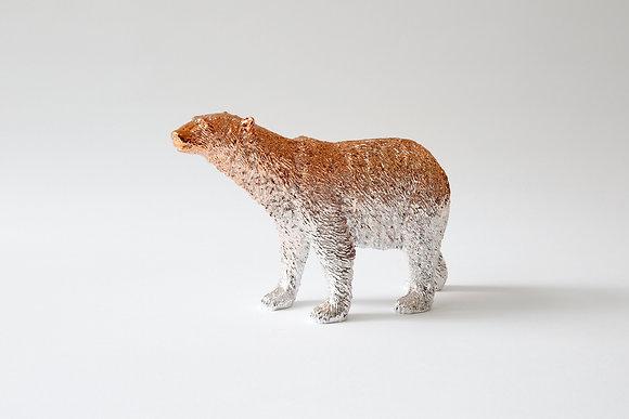 Polar Bear paperweight- Rose Gold