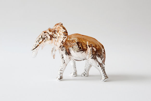 Elephant paperweight- Rose Gold