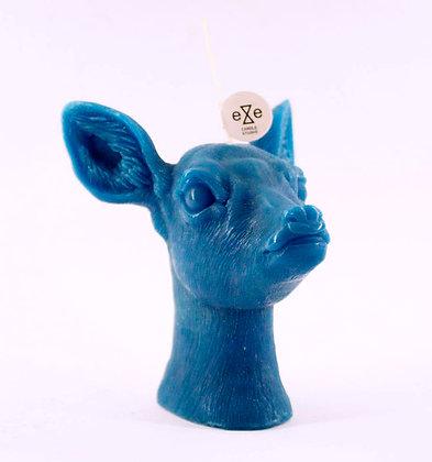 Deer Candle (Blue)