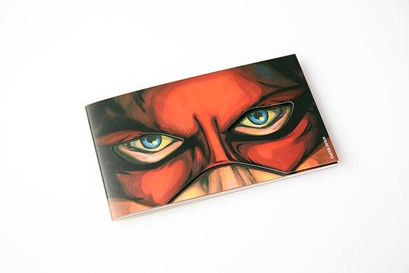 Hero Notebook (Thunder man)