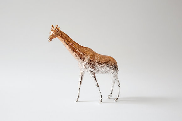 Giraffe paperweight- Rose Gold