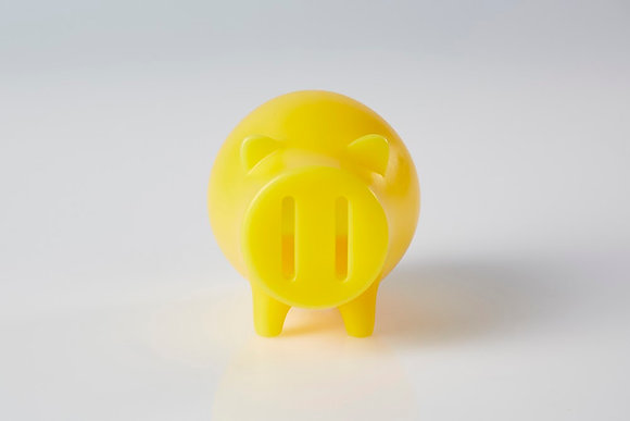 Candle piggy bank (Yellow)