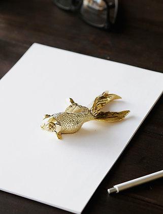 Goldfish paperweight