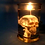 Thumbnail: Skull in Jar Candle-White