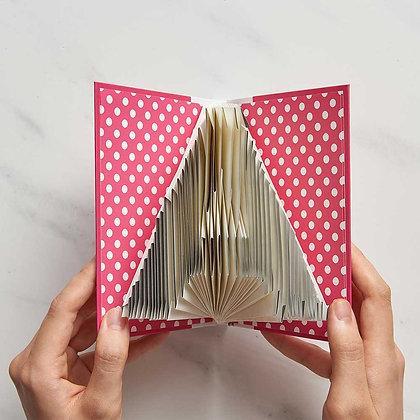 A-Z Folding notebook (Pink)