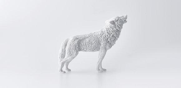 Wolf paperweight