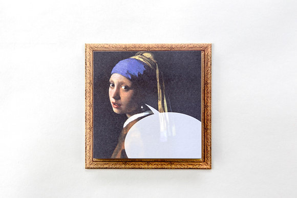 THREEM/Sticky notes (Girl with a Pearl Earring)