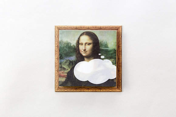 THREEM/Sticky notes (Mona Lisa)
