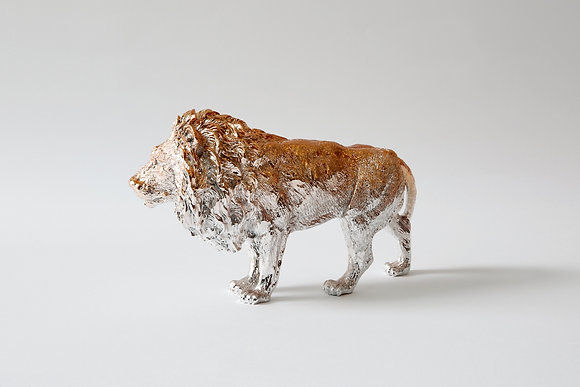 Lion paperweight-Rose Gold