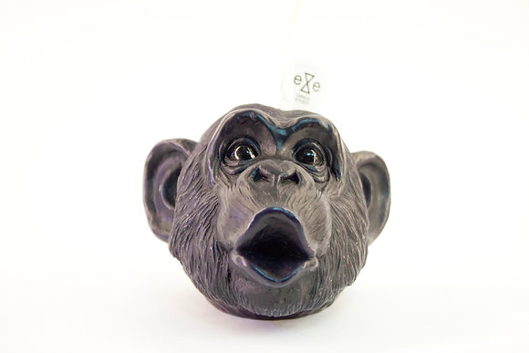 Chimpanzee Candle (Black)