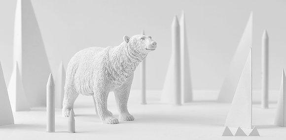 Polar Bear paperweight
