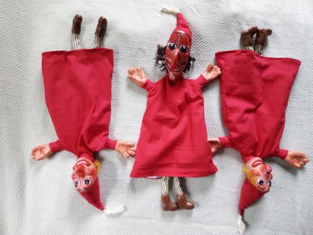 Моя первая кукла!
