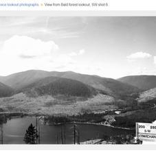 Bald Mountain SW view 1957