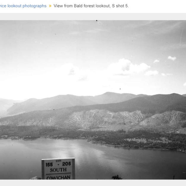 Bald Mountain S view 1957