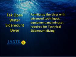 Tek Open Water Sidemount