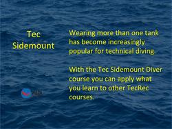 PADI_Tec Sidemount