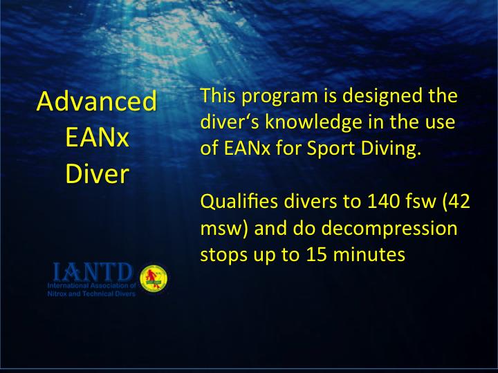 Advanced EANx