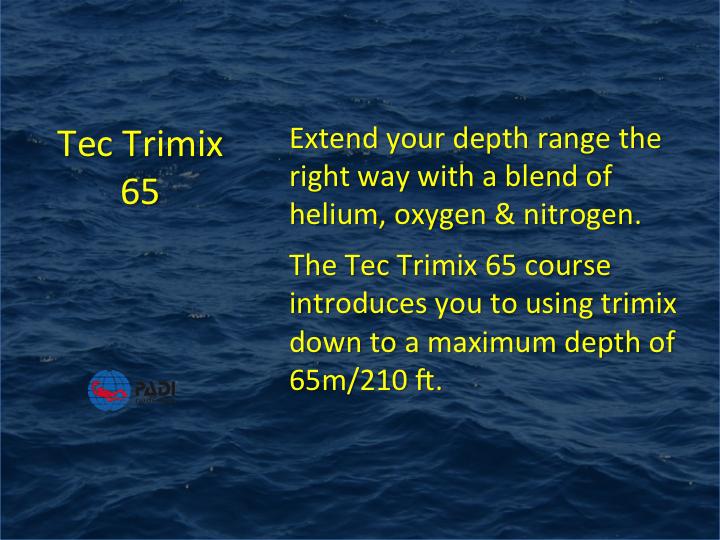 PADI_Tec Trimix 65