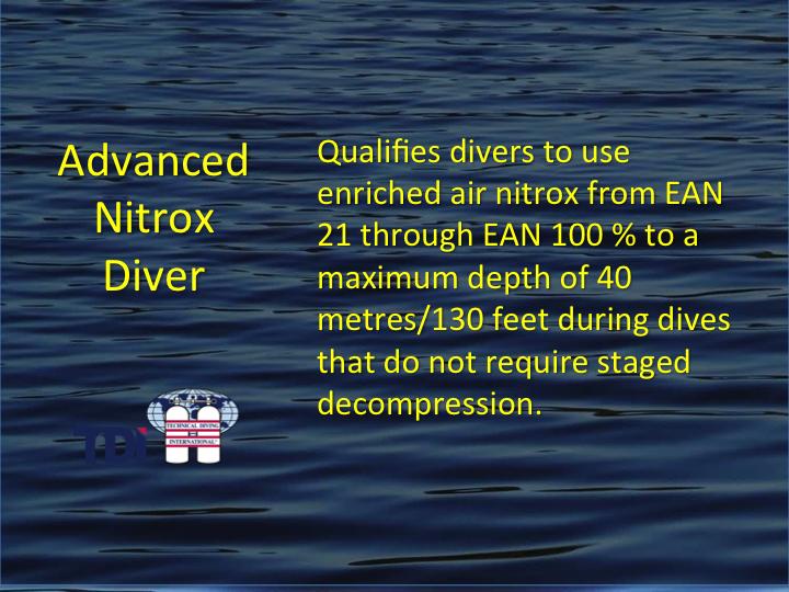 TDI_Advanced Nitrox