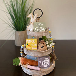 Easter Tiered Tray Decor Bundle